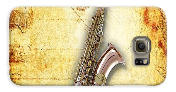 Saxophone Collection Galaxy S6 Case