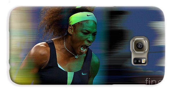 Serena Williams Galaxy S6 Case by Marvin Blaine