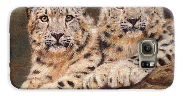 Snow Leopards Galaxy S6 Case