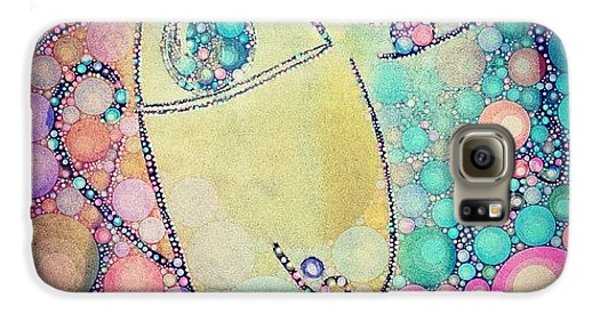 Decorative Galaxy S6 Case - Suspicious  by Lisa Claire Harrison