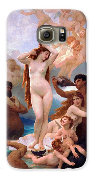 Venus Williams Galaxy S6 Case - The Birth Of Venus by William-Adolphe Bouguereau
