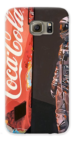 Space Galaxy S6 Case - The Coke Machine by Scott Listfield