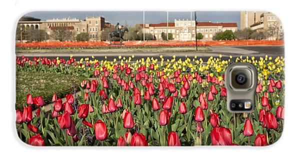 Tulips At Texas Tech University Galaxy S6 Case