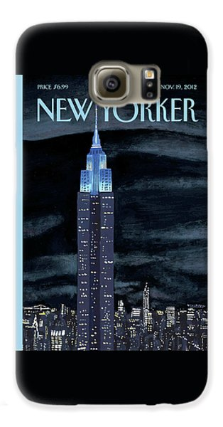 Empire State Building Galaxy S6 Case - New Yorker November 19th, 2012 by Mark Ulriksen