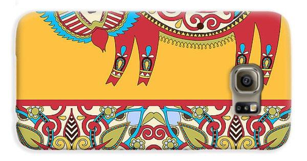 Dragon Galaxy S6 Case - Unusual Ukrainian Traditional Tribal by Karakotsya