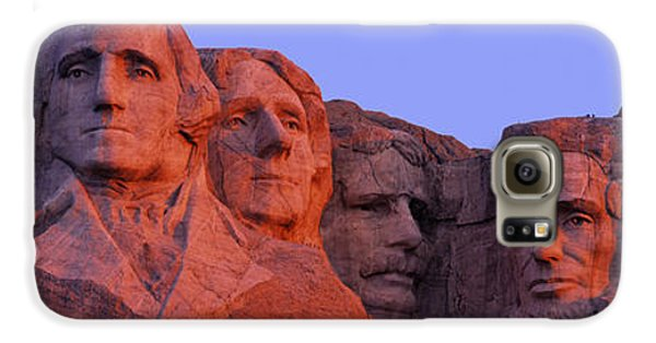 Usa, South Dakota, Mount Rushmore Galaxy S6 Case by Panoramic Images