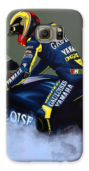 Doctor Galaxy S6 Case - Valentino Rossi by Paul Meijering