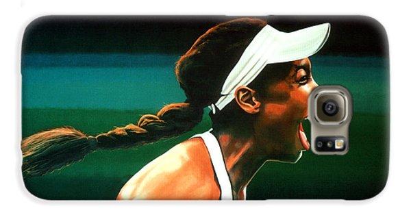Venus Williams Galaxy S6 Case by Paul Meijering
