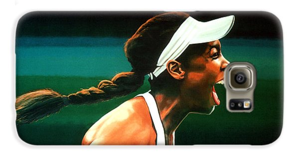 Venus Williams Galaxy S6 Case - Venus Williams by Paul Meijering