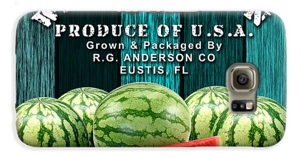 Watermelon Farm Galaxy S6 Case