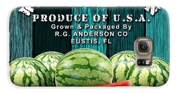 Watermelon Farm Galaxy S6 Case by Marvin Blaine