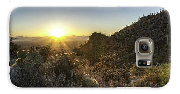 Winter Sunset Galaxy S6 Case