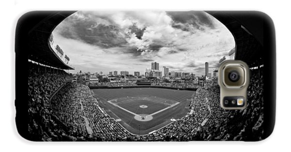 Wrigley Field Galaxy S6 Case - Wrigley Field  by Greg Wyatt