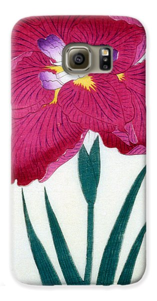 Japanese Flower Galaxy S6 Case by Japanese School