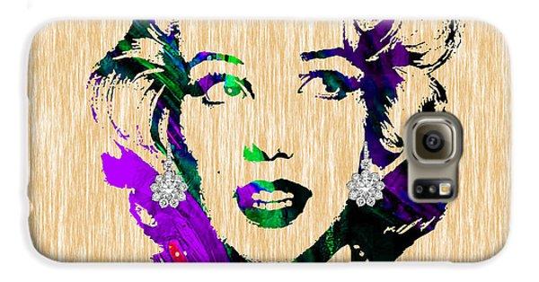 Marilyn Monroe Diamond Earring Collection Galaxy S6 Case
