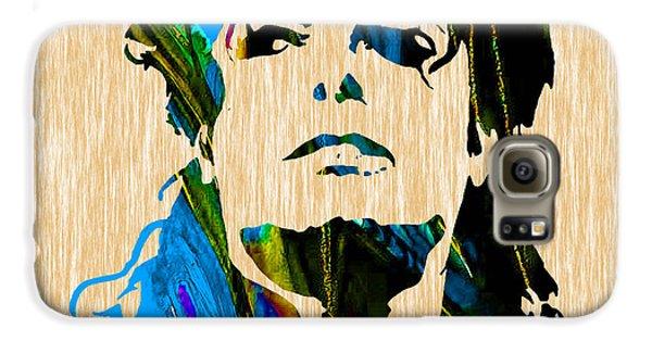 Michael Jackson Galaxy S6 Case by Marvin Blaine