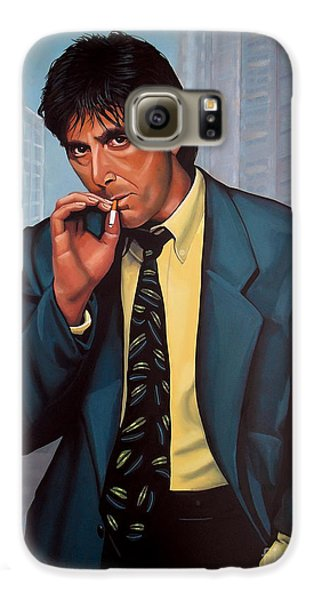 Al Pacino 2 Galaxy S6 Case by Paul Meijering
