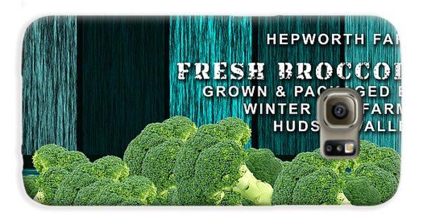 Broccoli Farm Galaxy S6 Case by Marvin Blaine