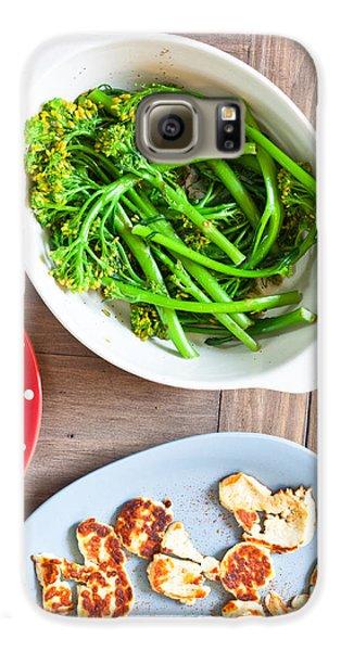 Broccoli Stems Galaxy S6 Case by Tom Gowanlock