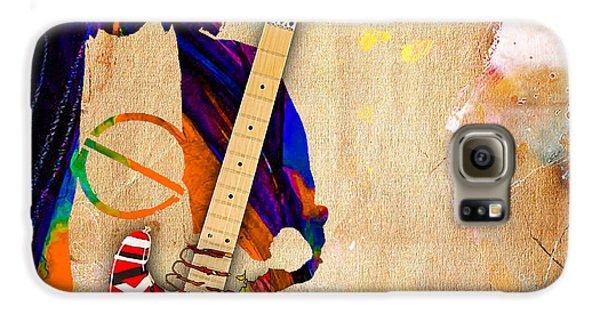 Eddie Van Halen Special Edition Galaxy S6 Case by Marvin Blaine