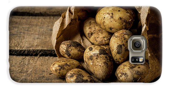 Fresh Potatoes Galaxy S6 Case by Aberration Films Ltd
