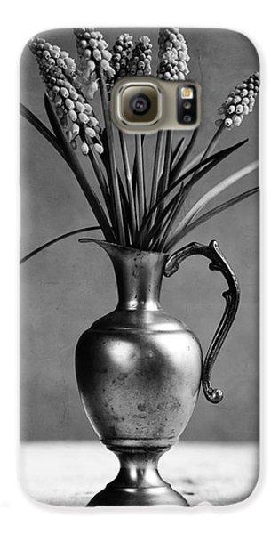 Hyacinth Still Life Galaxy S6 Case by Nailia Schwarz