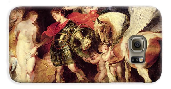 Perseus Liberating Andromeda Galaxy S6 Case by Peter Paul Rubens