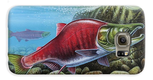 Sockeye Salmon Galaxy S6 Case