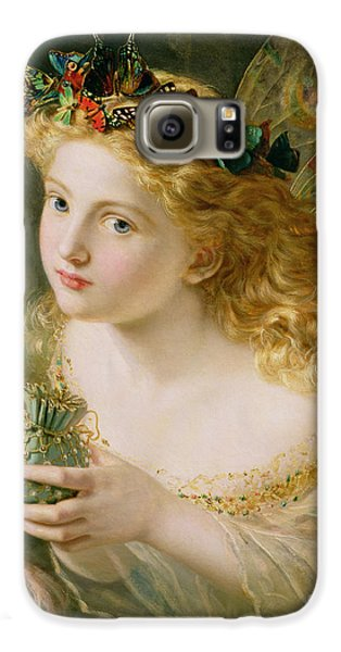 Take The Fair Face Of Woman Galaxy S6 Case by Sophie Anderson
