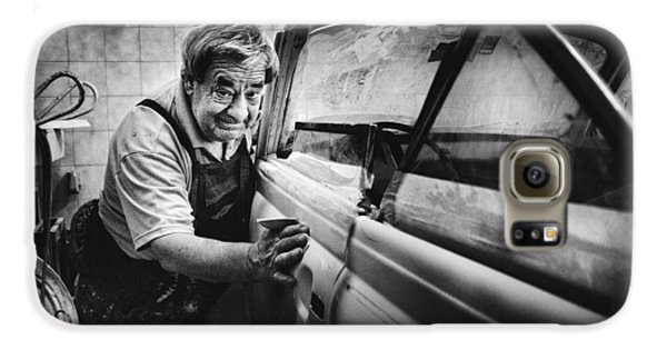 Truck Galaxy S6 Case - Untitled by Antonio Grambone