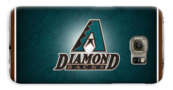 Arizona Diamondbacks Galaxy S6 Case by Joe Hamilton