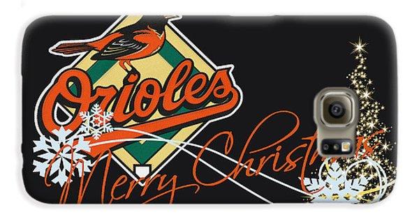 Oriole Galaxy S6 Case - Baltimore Orioles by Joe Hamilton