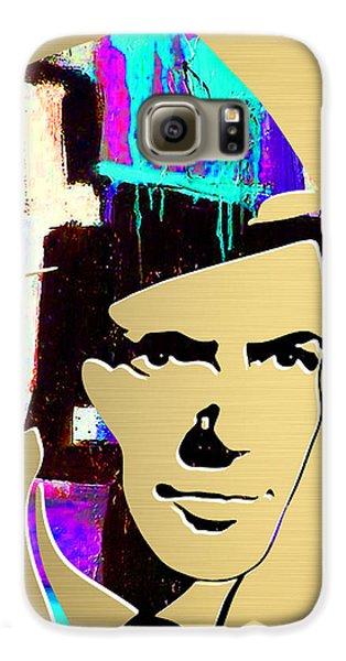Frank Sinatra Art Galaxy S6 Case by Marvin Blaine