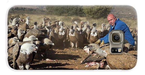 Griffon Vulture Conservation Galaxy S6 Case by Nicolas Reusens