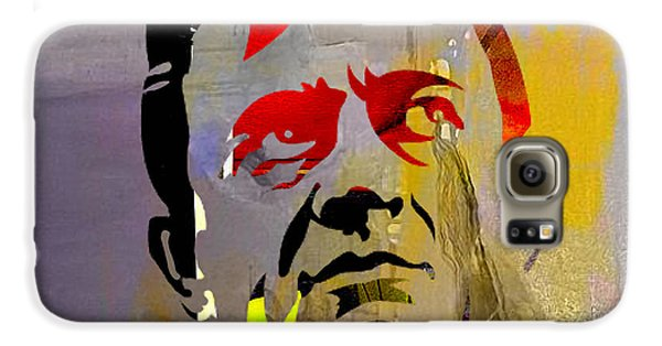 Johnny Cash Galaxy S6 Case by Marvin Blaine