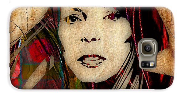 Joni Mitchell Collection Galaxy S6 Case by Marvin Blaine