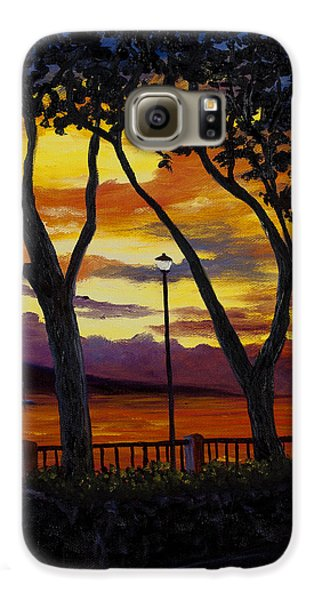 Lahaina Sunset Galaxy S6 Case