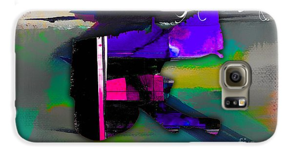 New Orleans Map Watercolor Galaxy S6 Case