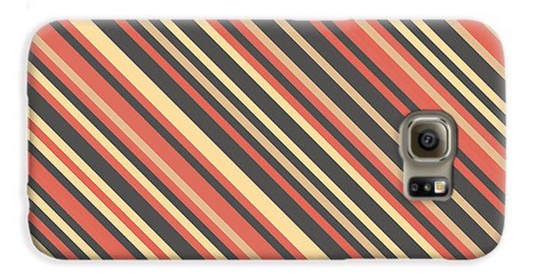 Striped Pattern Galaxy S6 Case by Mike Taylor