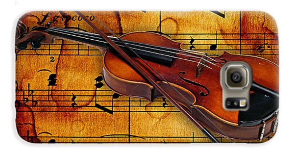 Violin Collection Galaxy S6 Case by Marvin Blaine