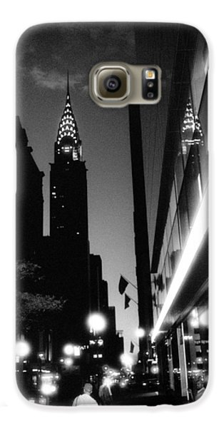 Galaxy S6 Case featuring the photograph 42nd-street-dawn by Dave Beckerman