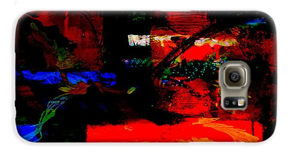 Abstract Wall Art Galaxy S6 Case