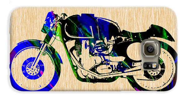 Cafe Racer Motorcycle Galaxy S6 Case