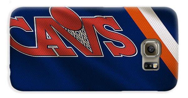 Cleveland Cavaliers Uniform Galaxy S6 Case by Joe Hamilton