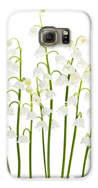 Lily-of-the-valley Flowers  Galaxy S6 Case by Elena Elisseeva