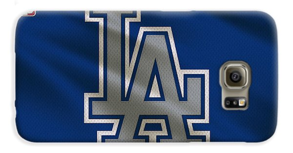 Los Angeles Dodgers Galaxy S6 Case - Los Angeles Dodgers Uniform by Joe Hamilton