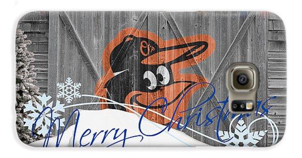 Oriole Galaxy S6 Case - Orioles by Joe Hamilton