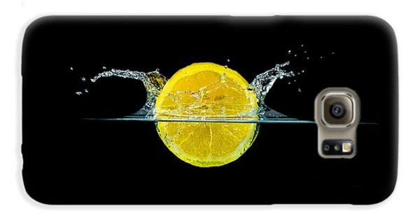 Splashing Lemon Galaxy S6 Case