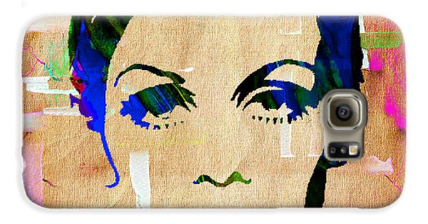London Galaxy S6 Case - Twiggy Collection by Marvin Blaine