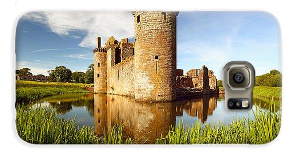 Castle Galaxy S6 Case - Caerlaverock Castle by Grant Glendinning